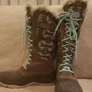 Northface mid-calf boots